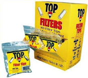Top Filter Tips 15mm 100ct 30 bags