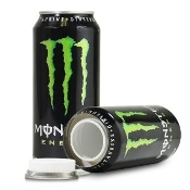 Monster Green Safe Can