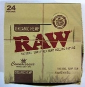 RAW 24ct. Organic Connoisseur King Slim- Tip