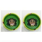 8ct. Leaf Style Jamaican Ashtray