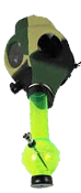 Gas Mask Water Pipe Camouflage
