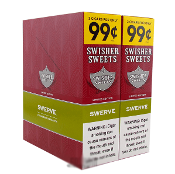 SWISHER SWEET SWERVE (2 FOR 99¢) 30/2