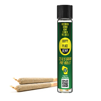 Happy Place Hemp CBD 2-0.5g Pre-Rolls