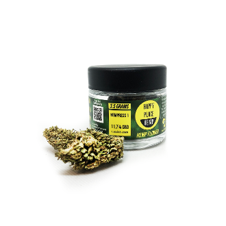 Happy Place Hemp Flower CBD 11.7% Hempress 1 3.5g