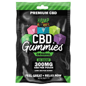 Hemp Bombs CBD Gummies Display 300 mg 6/20ct