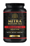 Mitra Botanicals Powder Jar Red Maeng Da 250g