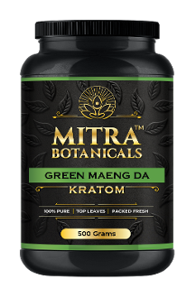 Mitra Botanicals Powder Jar Green Maeng Da 500g