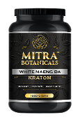 Mitra Botanicals Powder Jar White Maeng Da 1000g