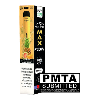 Hyppe Max Flow Disposable Guava Pineapple Orange 2000 Puff 6.0ml