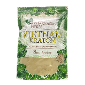 Remarkable Herbs Kratom Powder Bag Green Vein Vietnam 8oz
