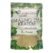 Remarkable Herbs Kratom Powder Bag White Vein Maeng Da 8oz