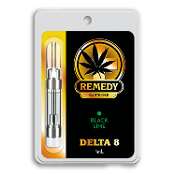 Remedy Delta 8 CBD Black Lime Vape Cartridge 1ml
