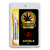 Remedy Delta 8 CBD Forbidden Fruit Vape Cartridge 1ml