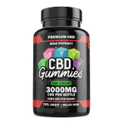 Hemp Bombs CBD Gummies Bottle 3000mg 100ct