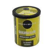 Moon Buzz Delta 8 Flower CBD Banana Kush 2500mg 14.0g Can